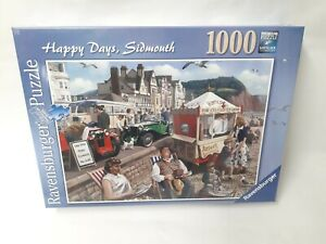 1000-Pieces-Ravensburger-Puzzle-Happy-Days-Sidmouth-Kevin-Walsh