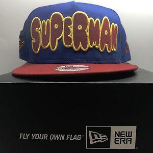 fdc95ab66 ... hat shop image is loading new era mlb 9fifty superman snapback baseball  holiday 4c5f8 a868c ...