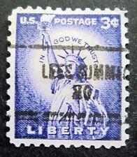 Sc # 1035 ~ 3 cent Liberty Issue, Precancel, LEES SUMMIT MO.