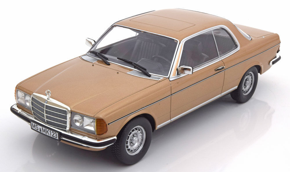 1 18 Norev 1980 MERCEDES BENZ 280 CE c123 or Metallic Limited Edition 1500st.