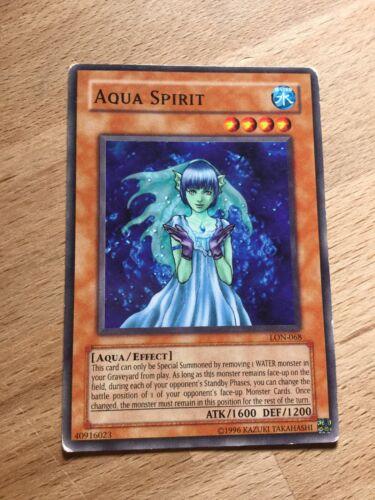LON-E068 Common Yugioh Card Aqua Spirit LON-068