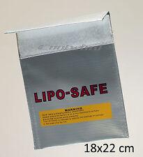 RC Lipo Battery Lipo Safe Guard Bag  18x22cm Charge Sack