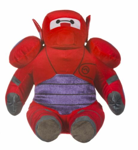 "NEW OFFICIAL 12/"" BIG HERO 6 SITTING RED BAYMAX ROBOT PLUSH SOFT TOY BAY MAX"