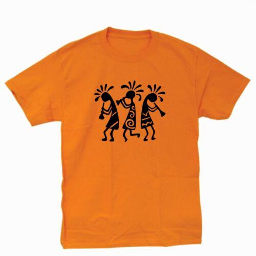Kokopelli Three Dancers T-Shirt.