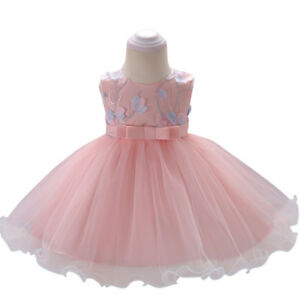 Details about Flower Girls Princess Tutu Dress Wedding Party Birthday  Dresses for Toddler Baby cea378cef8e1