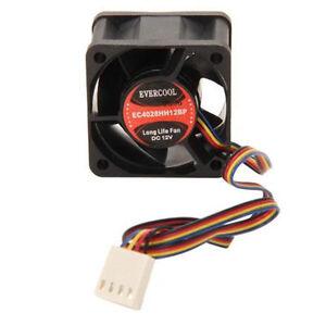 Evercool-EC4028HH12BP-40mm-x-28mm-12V-2-Ball-4-Pin-PWM-Cooling-Fan
