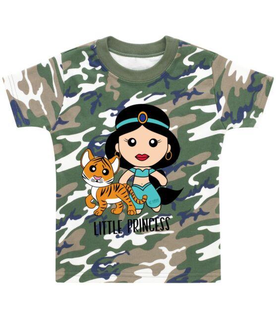 Aladdin Genie Kid Girl Boy Youth Unisex Crew Neck Short Sleeve Top Tee T-Shirt
