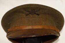 Pre WW1 American US AEF 10th Infantry Other Ranks Peak Cap
