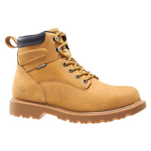 """Wolverine Floorhand Mens Waterproof 6/"""" Steel Toe Work Boot Electrical hazard EH"""