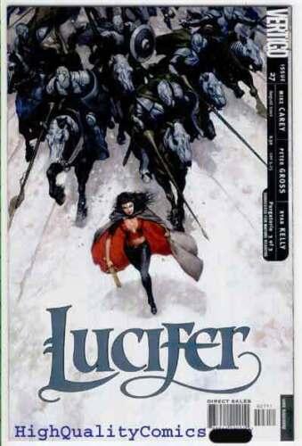 Vertigo Purgatorio,Peter Gross LUCIFER #27,Devil,NM//M