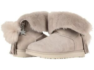 422dd043843 Details about Ugg Classic Charm Boot Willow 8M NWB