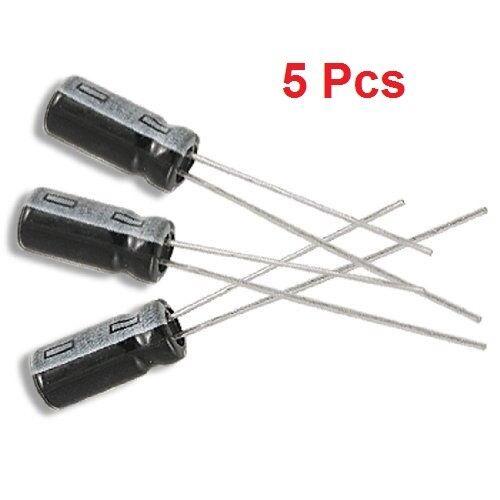 5 Pcs 220uF 50 V 105 C Radial Condensateur électrolytique E-Projets