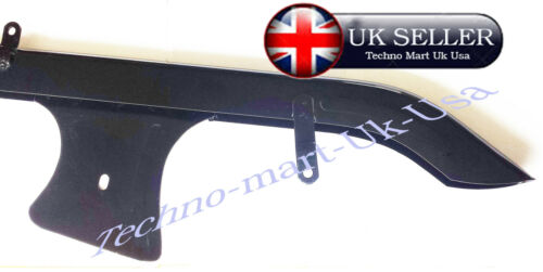 EARLY ROYAL ENFIELD BULLET 350CC 500CC MODELS BLACK CHAIN COVER GUARDS @UK