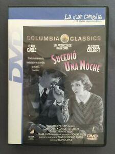 DVD-SUCEDIo-UNA-NOCHE-Clark-Gable-Claudette-Colbert-Walter-Connolly-FRANK-CAPRA