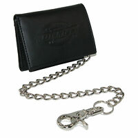 Dickies Men's Leather Trifold Chain Wallet on sale