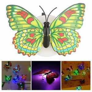 Beautiful-Butterfly-LED-Night-Light-Lamp-Wall-Stickers-Christmas-Wedding-Home