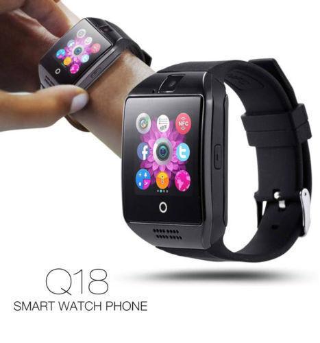 Q18 Bluetooth Orologio Smart Watch Telefono Per Android iOS Sony Samsung  t1