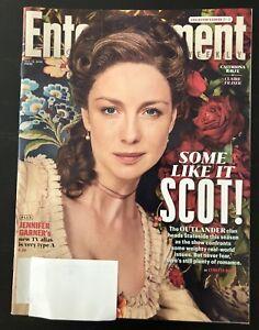 Entertainment-Weekly-Magazine-Outlander-Caitriona-Balfe-Sam-Heughan-Hate-U-Give
