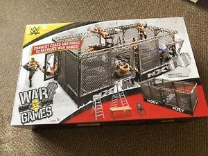 WWE-Wrekkin-NXT-TakeOver-War-Games-Cages-Playset-2-Wrestling-Rings-Accessories