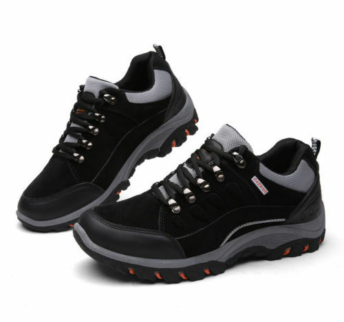 Men's Athletic Running Outdoor Boots Waterproof Non-slip Hiking Climbing Shoes