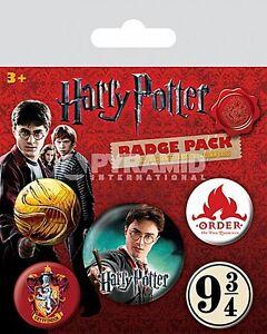 Harry-Potter-Gryffindor-confezione-da-5-rotondo-SPILLE-PY-80486