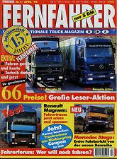 Fernfahrer 4/98 1998 IFA W50 Mercedes Atego Actros SK1633 Renault Magnum 430.18T