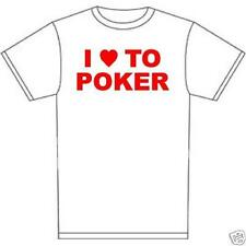 t-shirt DEALER Poker texas hold em bluff 7 stud 5 card Omaha Home game