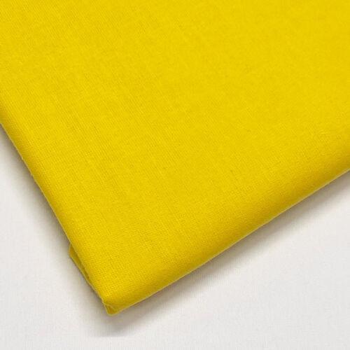 Uni 100/% Tissu De Coton Pour Artisanat patchwork /& quilting-vendu au mètre...