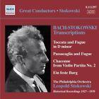 Bach-Stokowski: Transcriptions (CD, Sep-2008, Naxos Historical)
