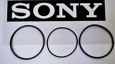 SONY CDP-CX300 300 CD Changer 3 Belt Set CD Carousel Loading /& Door