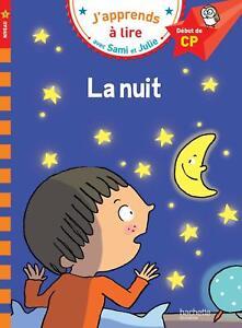 Sami-et-Julie-CP-Niveau-1-la-nuit-Livre-de-Poche-Neuf-6-9-ans-25-04-2017