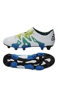 7eb8bdd3f741b Adidas X 15.1 FG AG Leather 9.5(S74617) Soccer Cleats Shoes Football ...