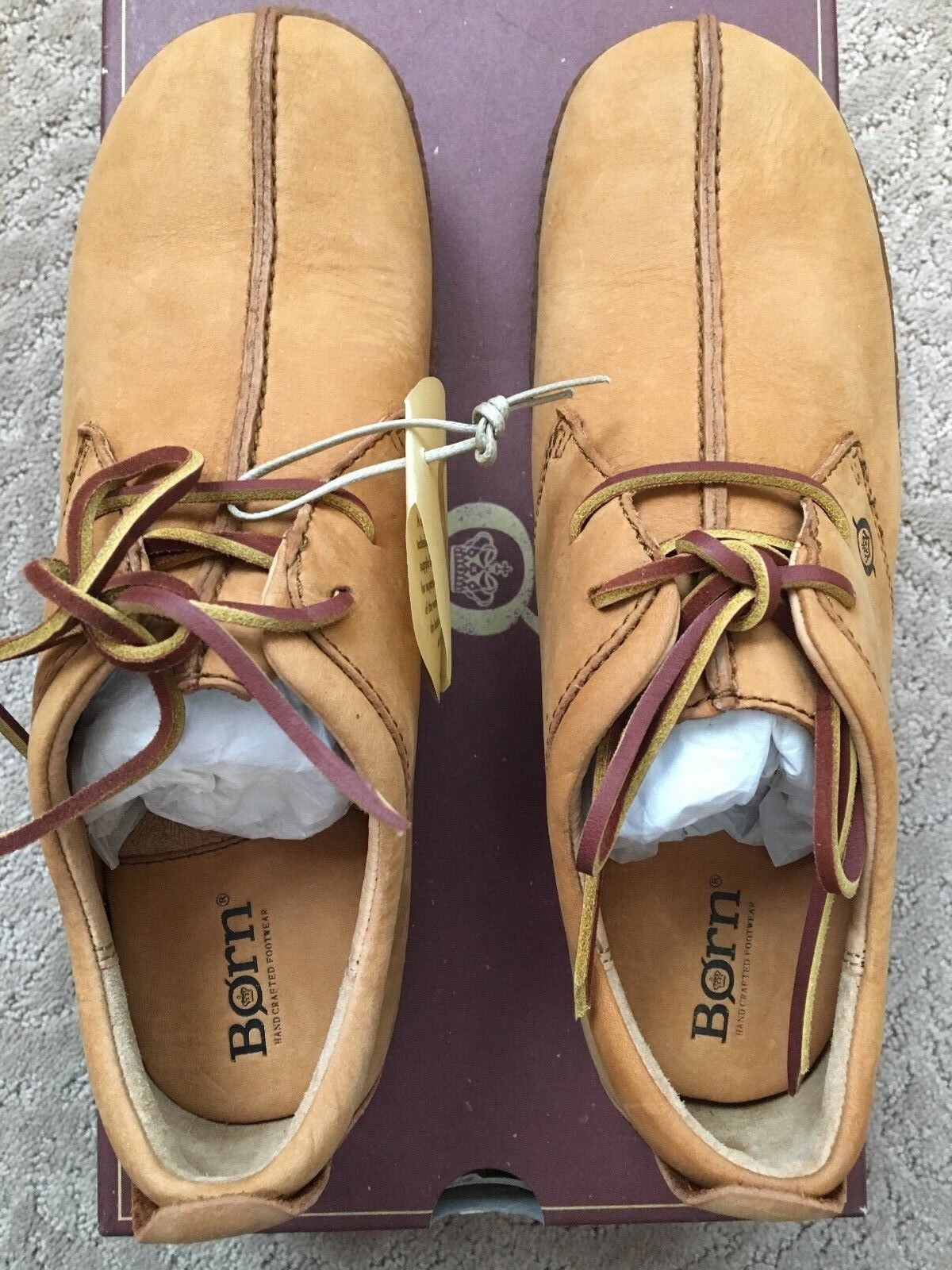 rougeUCED - BORN W1244  Sahara womans tan leather chaussures