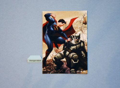 Batman V Superman Hubsnaps Checklist #43 Batman V Superman Super Rare