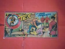 TEX STRISCIA ORIGINALE TERZA 3° NUOVA SERIE  N° 2 -AUDACE 1951 -GALEP GALLEPPINI