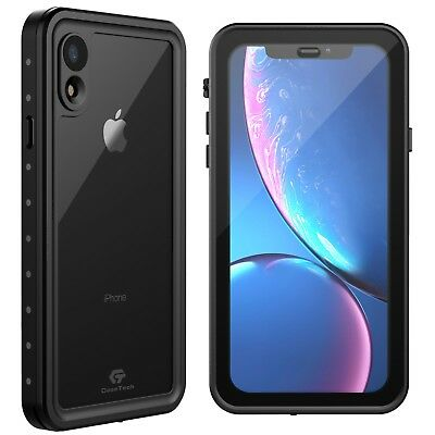 check out dcb52 6524a For Apple iPhone XR Waterproof Case Shockproof Cover w Built-in Screen  Protector | eBay