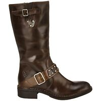 Fly London Fina Dark Brown Womens Boots