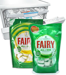 Fairy Clean Dishwasher Tablets All In 1 Dishes Glasses