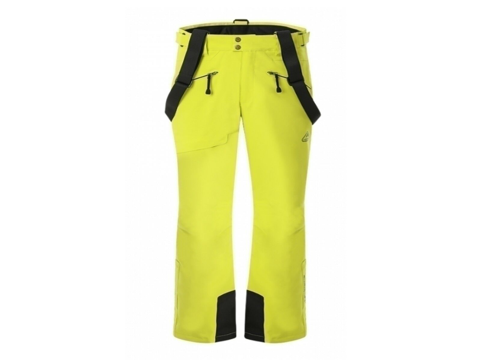 Ski trousers man Aesse 2228 0400 Cervinia Lime Grün