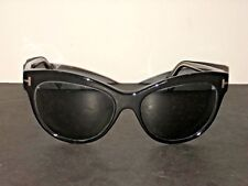 "462dd2d9dd item 1 TOM FORD ""LILY""BLACK CAT EYE SUNGLASSES TF430 05D 56-16 POLARIZED  GRAY LENSES -TOM FORD ""LILY""BLACK CAT EYE SUNGLASSES TF430 05D 56-16 POLARIZED  GRAY ..."
