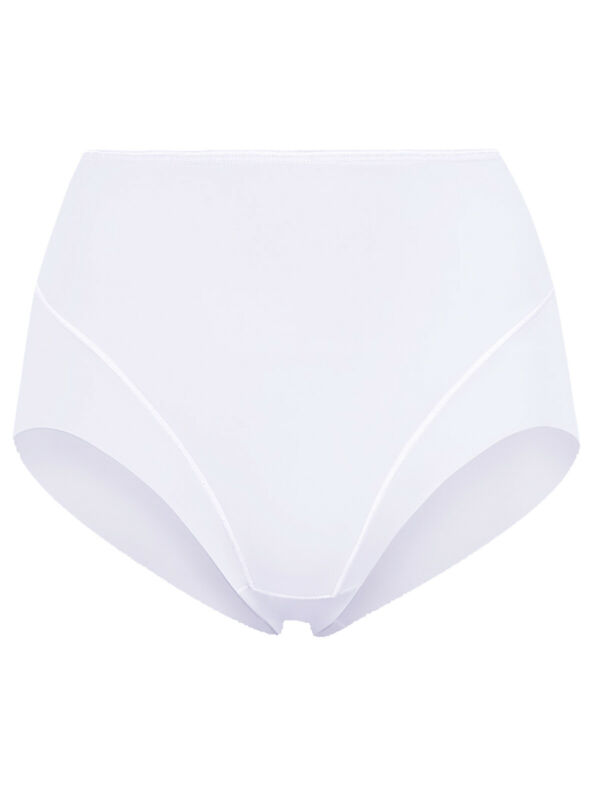 Brand New Marks & Spencer White Light Control Full Briefs Pants Size 20