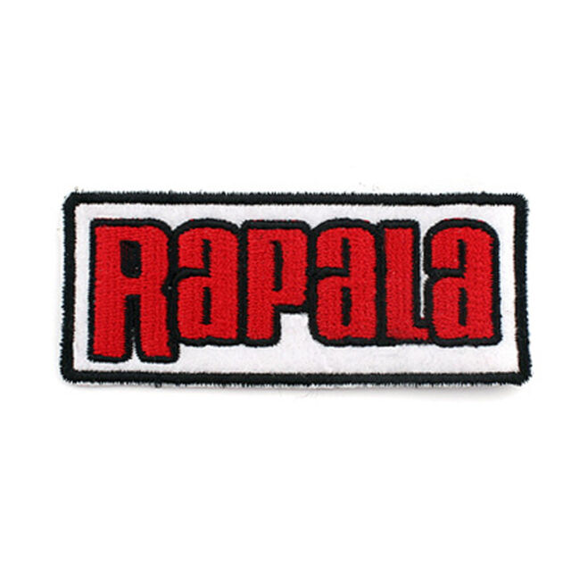 [Patch King] Rapala Fishing Logo Patch Emblem Clothes Cap Badge 75mm