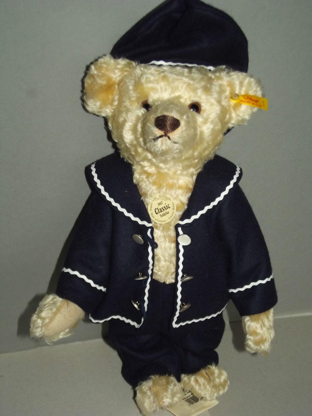 Steiff Teddy Nr.027758  Classic Teddybaer 1907 mit Anzug Anzug Anzug von 1997 26 cm neuw. 60d37f