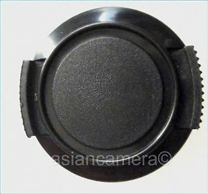 Front Lens Cap For Sony DCR-TRV20 DCR-TRV30 + Keeper Safety Dust Cover Snap-on