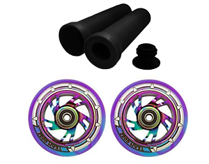 110 mm-paire Violet ou Or 110 mm Stunt Scooter Roues RAZOR