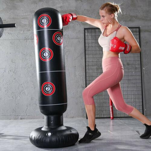 Boxsack Sandsack Erwachsene Kinder Standboxsack Fitness Sport HOT
