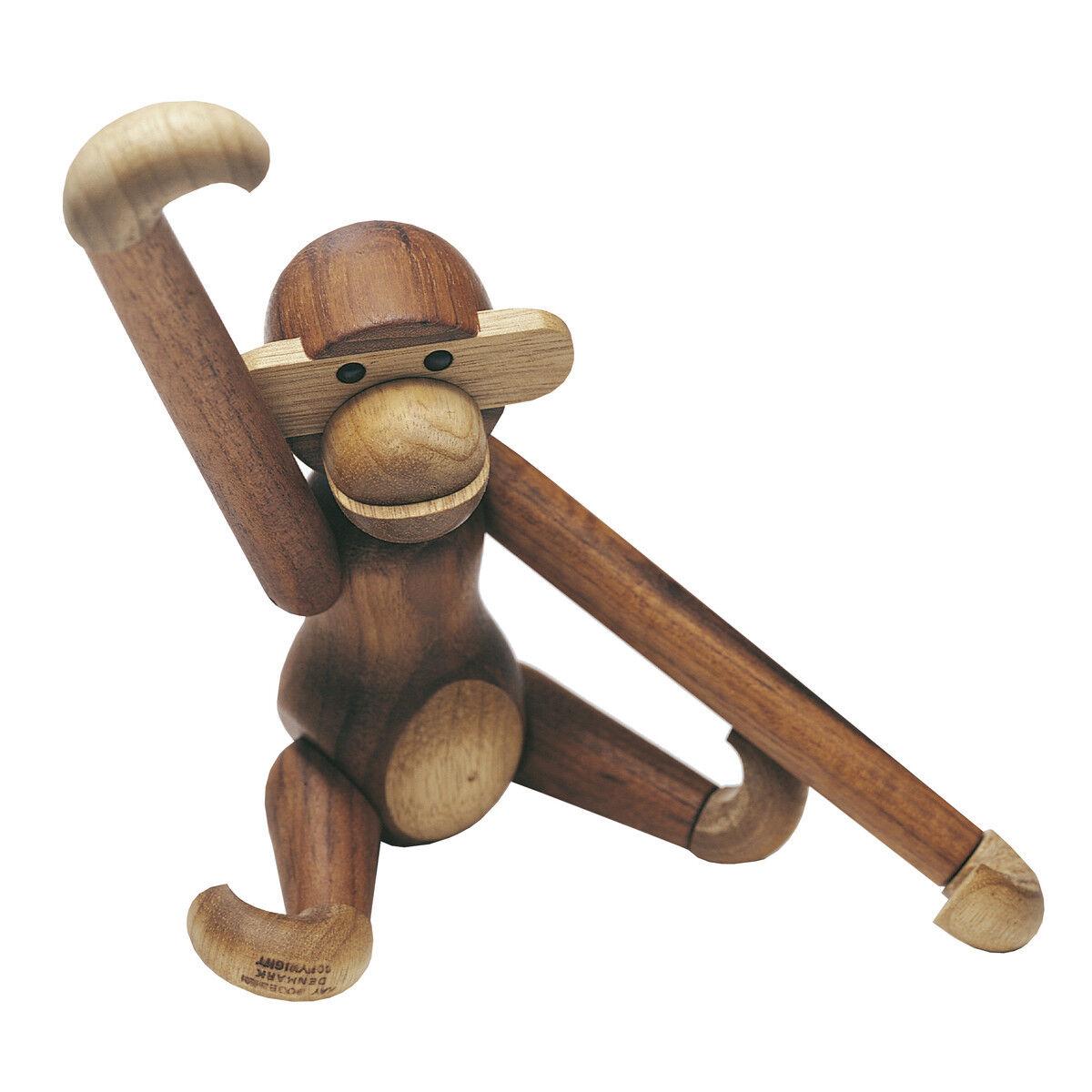 Details About Kay Bojesen Original Monkey Medium Danish Design Wooden Figurines New