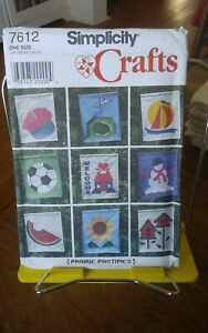 Oop-Simplicity-Crafts-Prairie-Pastimes-7612-appliqued-outdoor-lawn-flags-NEW
