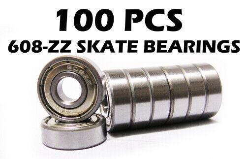 100  Skateboard//Skate Bearings Skateboarding Lot