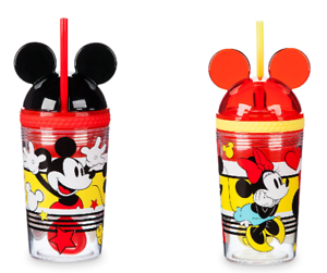 Minnie Mickey Mouse Tumbler With Snack Cup And Straw